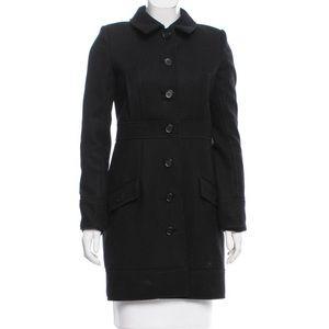 Proenza Schouler wool evening coat